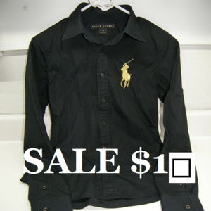 Ralph Lauren Button Down Polo Pony $98.50